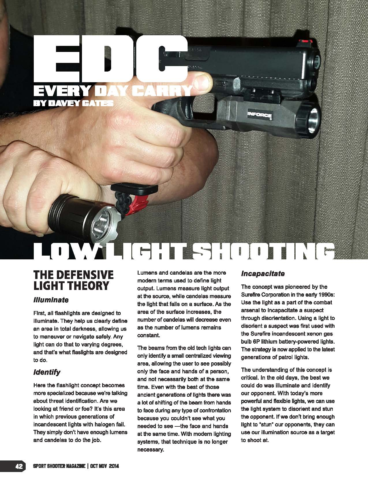 Sport Shooter article by Davey Gates