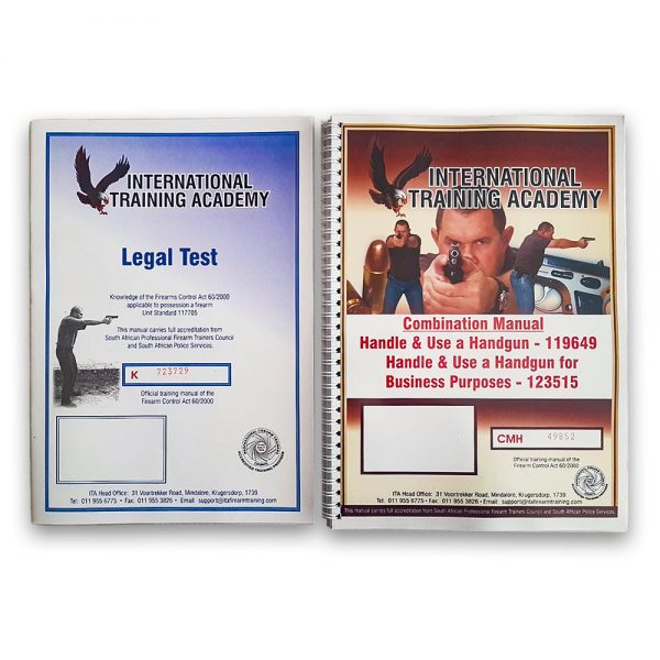 Combination Manual for Handgun + Legal Test Unit Standard 117705
